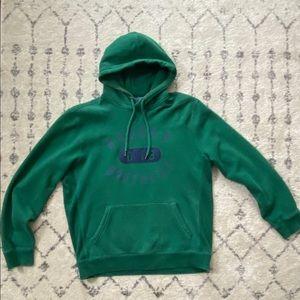 Brooks Brothers Emerald Green Athletics Hoodie